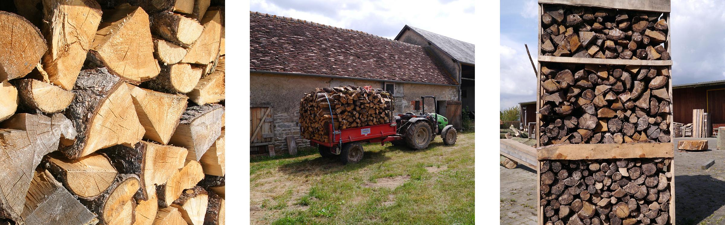 kachel- en open haard-hout